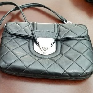 Calvin Klein Quilted Black Crossbody